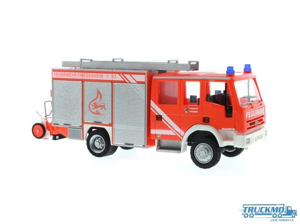 Rietze Feuerwehr Friesenheim Iveco Eurofire 68124