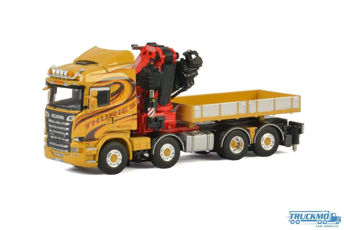 WSI Thures Scania R Streamline Highline Fassi Aufbaukran 01-2332