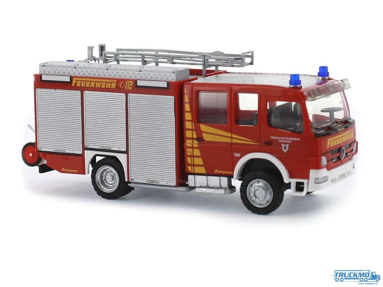 Rietze Feuerwehr Tangstedt Mercedes Benz Atego 10 LF-10 Schlingmann 68244