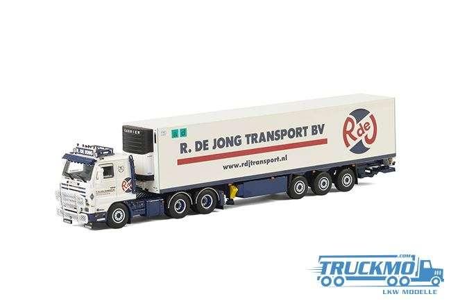 WSI R. de Jong Scania 3 Series Streamline Kühlauflieger 01-2222