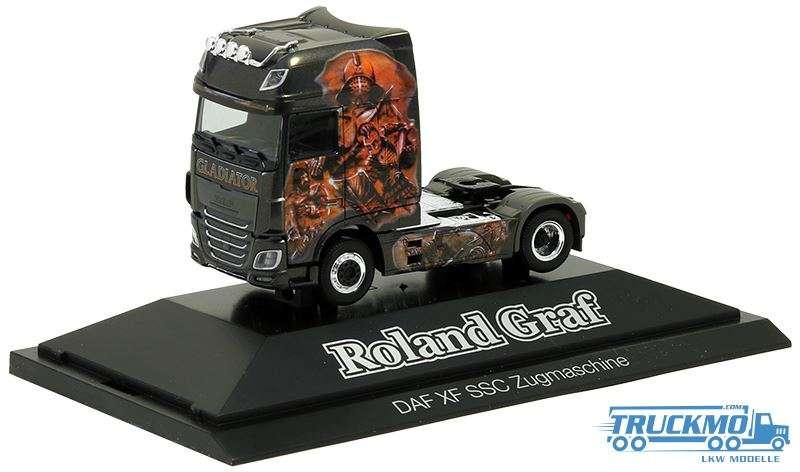 Herpa Roland Graf DAF XF Super Space Cab Euro 6 Showtruck 936590
