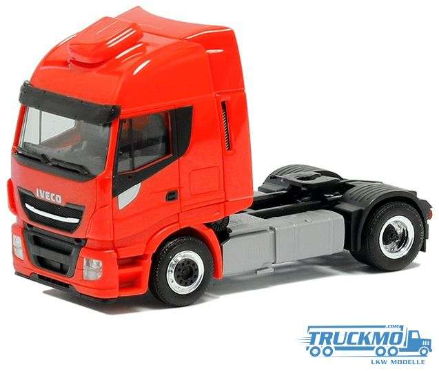 Herpa Iveco Stralis Euro 6 HiWay XP Zugmaschine rot 600541