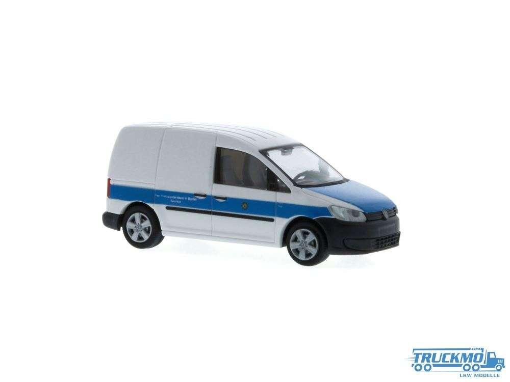 Rietze Polizei Berlin Volkswagen Caddy 11 Kasten 52914