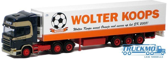 "AWM Wolter Koops Scania ""R"" Topl./Aerop - Kühl-KSZ"