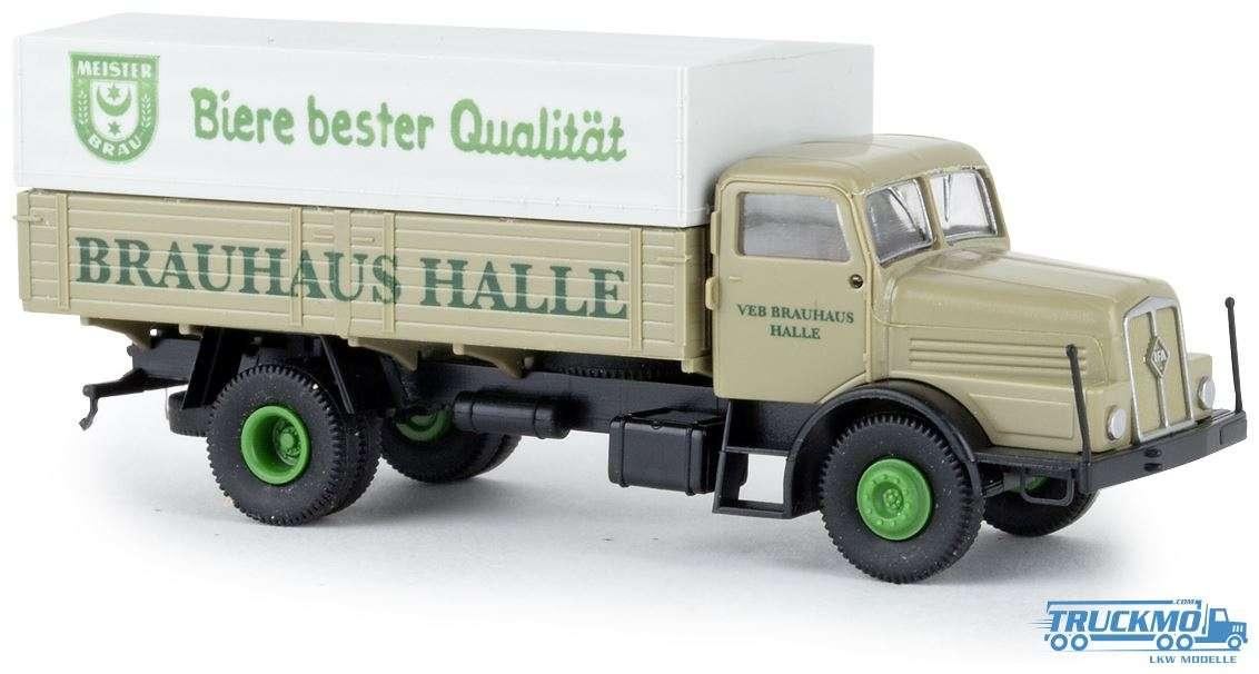Brekina Brauhaus Halle IFA H6 PP 71037