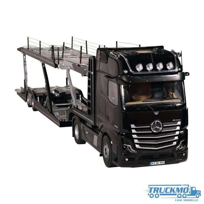 NZG LOHR Autotransporter Mercedes Benz Actros Set 989/50