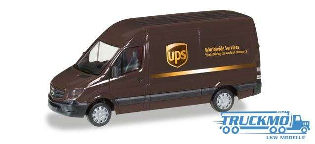 Herpa UPS Mercedes-Benz Sprinter Kasten HD 093408