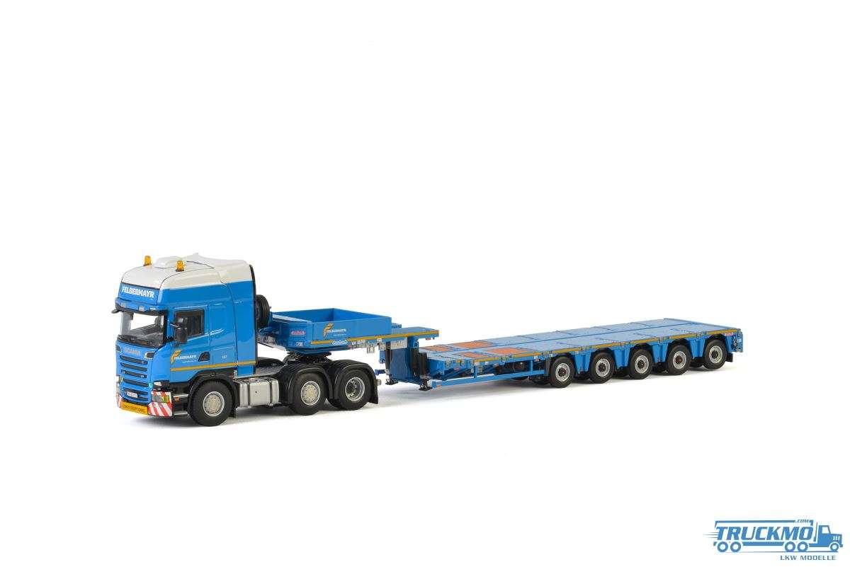 WSI Felbermayr Scania R Streamline Topline Nooteboom Multi-PX Tieflader 01-2402