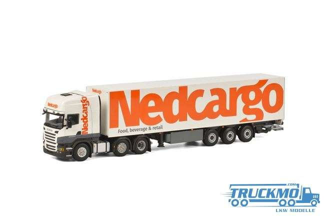 WSI Nedcargo Scania R Streamline Topline Kofferauflieger 3 Achs 01-1829