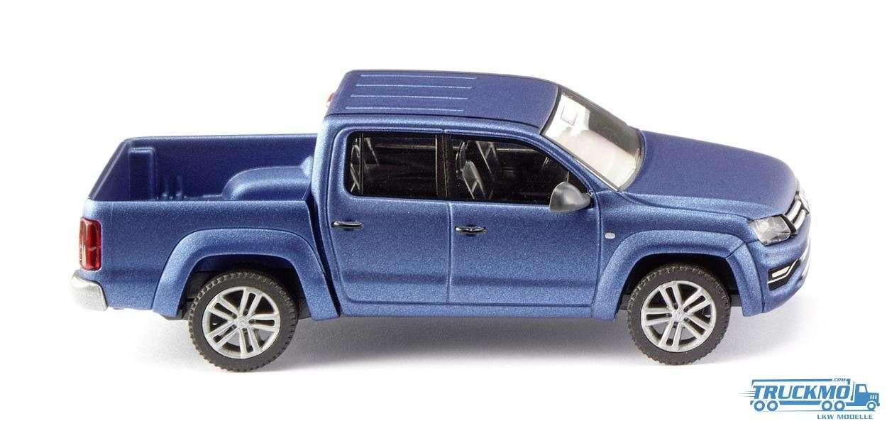 Wiking Volkswagen Amarok GP Highline ravennablau metallic matt 031149