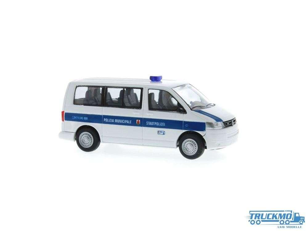 Rietze Polizia Municipale Volkswagen T5 GP Bus KR FD 53421