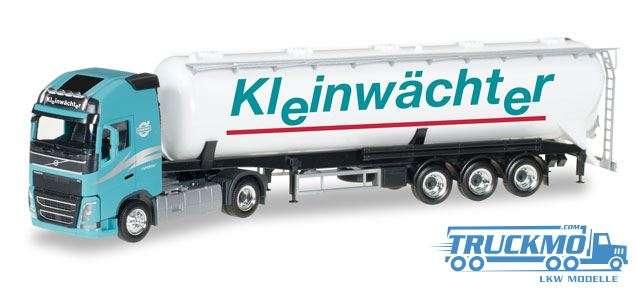Herpa Kleinwächter LKW Modell Volvo FH Gl. Silo-Sattelzug 307086