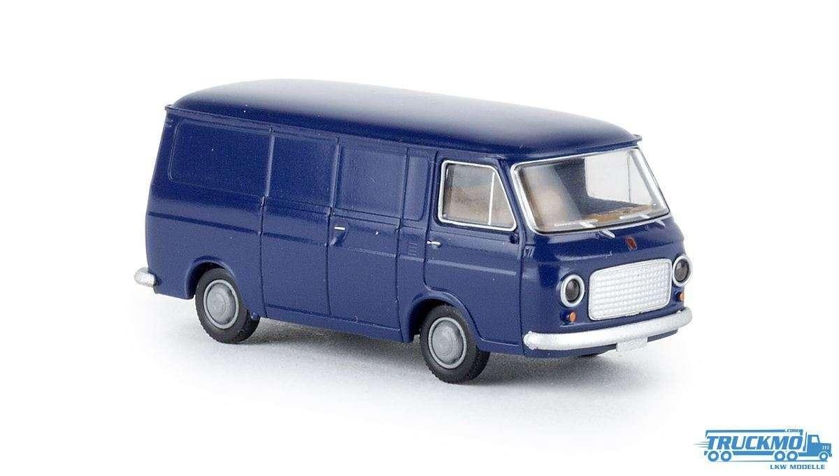 Brekina Fiat 238 Kasten kobaltblau 34455