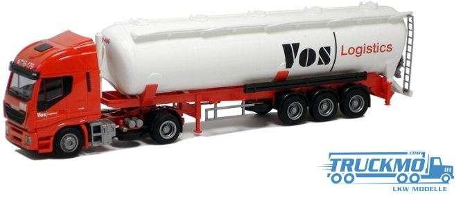 AWM Vos Logistics Iveco HiWay Aerop. Kippsilo Sattelzug LKW Modelle