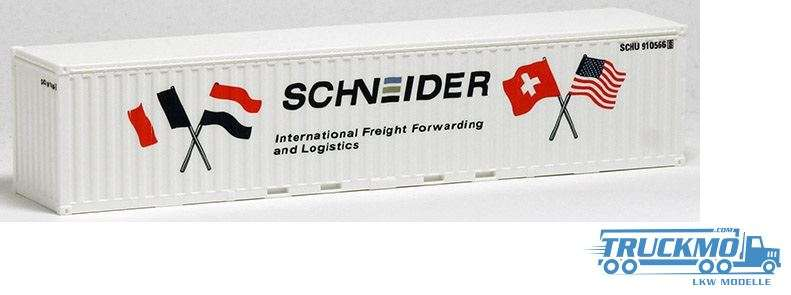 AWM Schneider 40ft. open top Container 491929