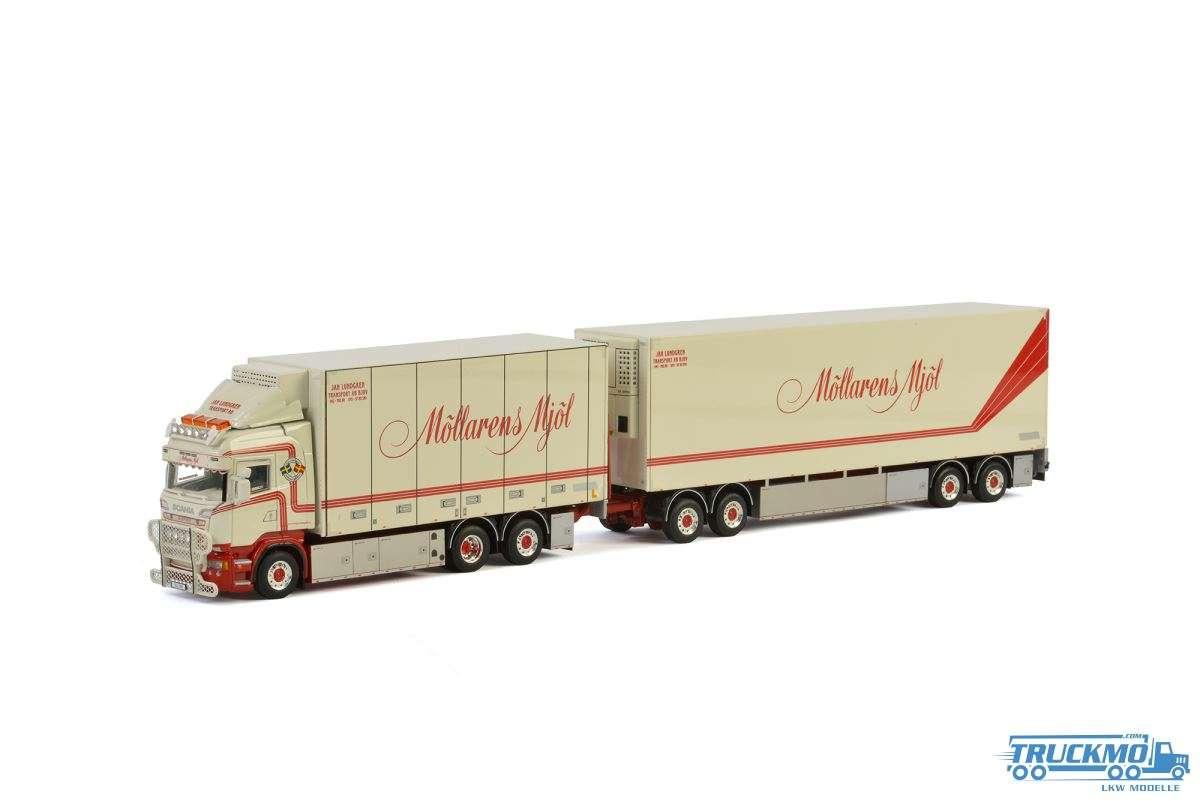 WSI Jan Lundgren Transport LKW Modell Scania R Streamline Highline Combi 01-2229