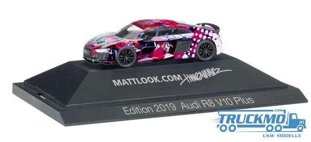 Herpa Mattlook Edition 4 Audi R8® V10 Plus 102148
