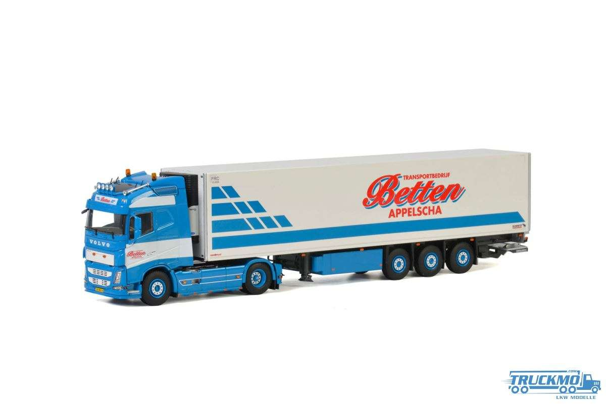 WSI J. Betten & ZN. Volvo FH4 Globetrotter Kühlauflieger 01-2856