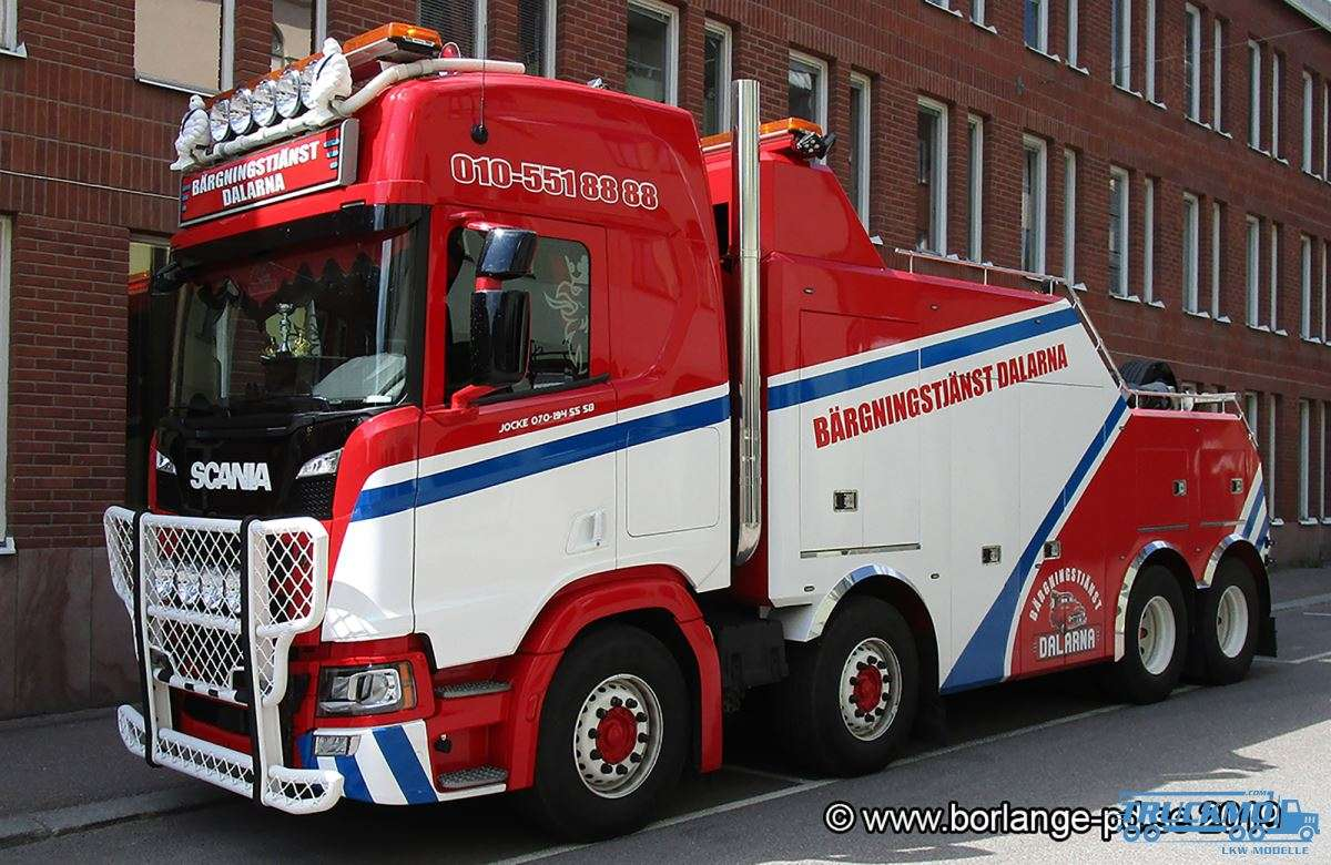 WSI Dalarna Scania R Highline CR20H Falkom 01-3009