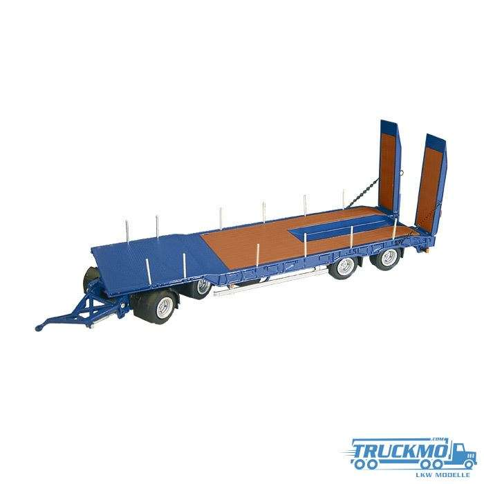 NZG Nooteboom ASD40 4-axle low loader blue 546/20