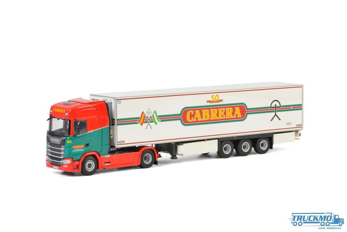 WSI Cabrera Scania S Highline CS20H Kühlauflieger 3 Achs 01-2765