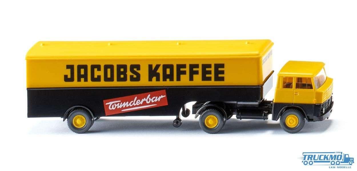 Wiking Jacobs Kaffee Henschel HS 14/16 Koffersattelzug 051321