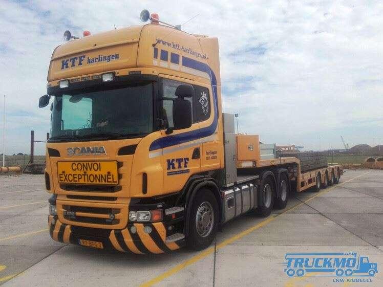 WSI KTF Harlingen Scania R6 Topline Tieflader 01-2959