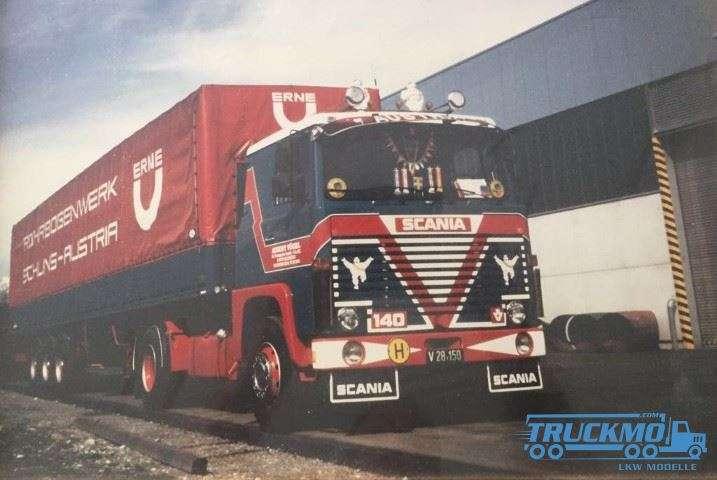 Tekno Vögel Scania 140 Planenauflieger 73911