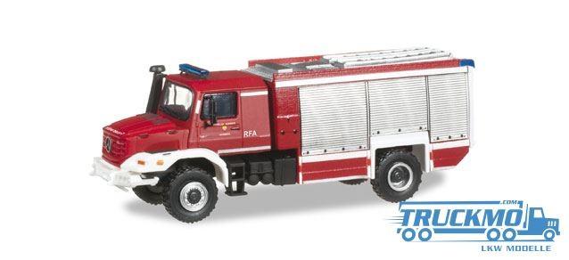 Herpa Feuerwehr Hinterbrühl Mercedes-Benz Zetros 4x4 Magirus Rüstwagen