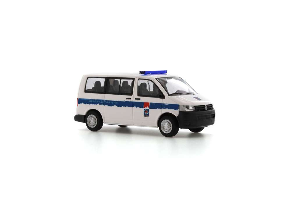 Rietze Bergwacht Bayern Volkswagen VW T5 GP Bus KR FD 53406