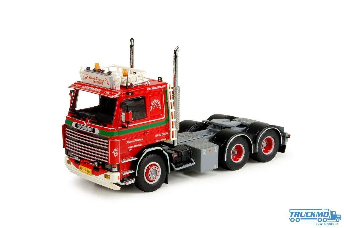 Tekno Ronnie Petersen LKW Modell Scania 2 Serie 6x2 74198