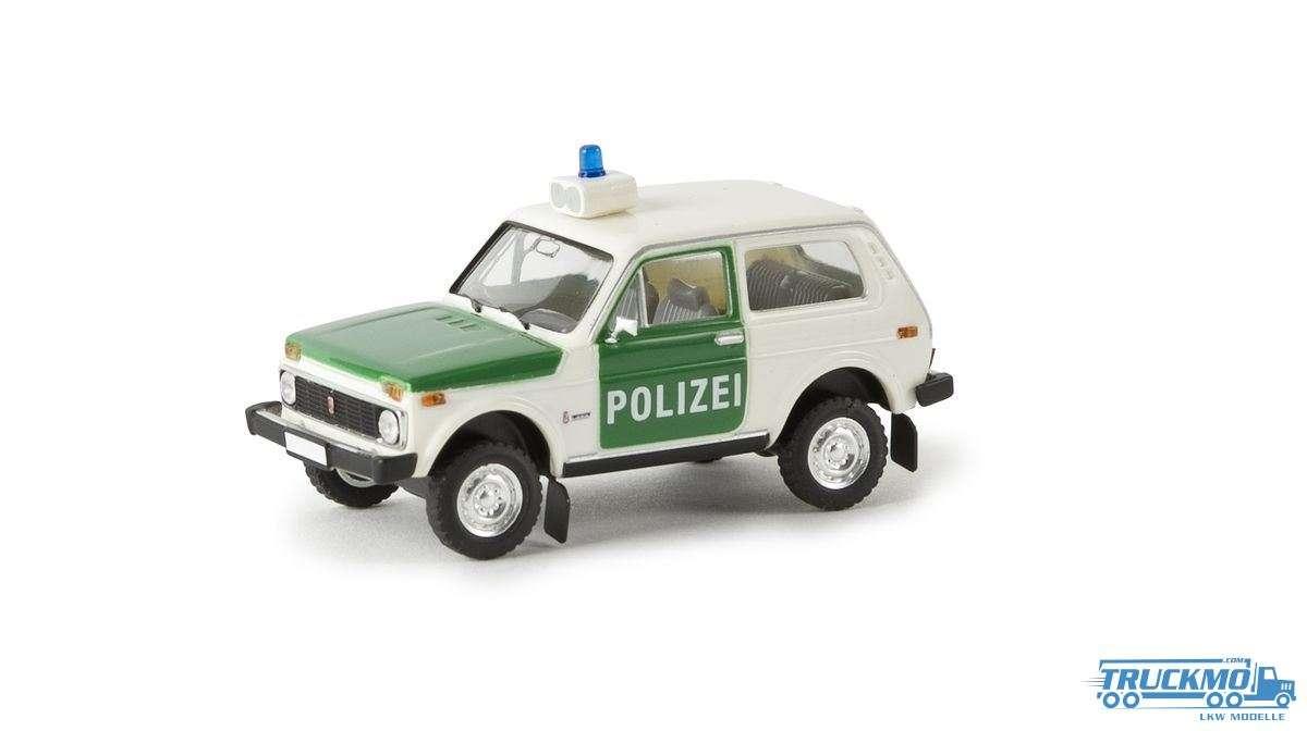 Brekina Polizei Lada Niva 27214