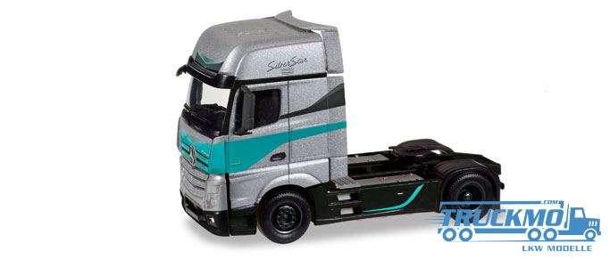 Herpa Silver Star Edition Mercedes-Benz Actros Gigaspace Zugmaschine 308830
