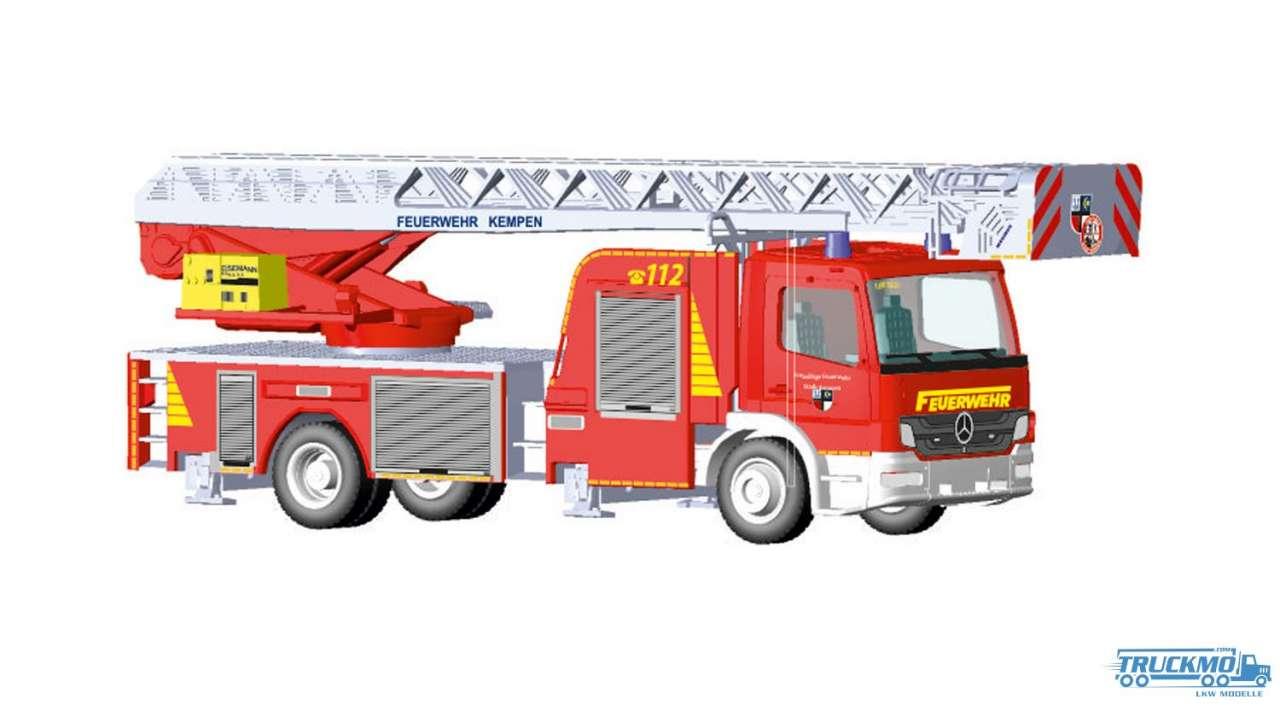 Rietze Feuerwehr Kempen Mercedes Benz Atego Magirus DLK 32 L-AS 71609
