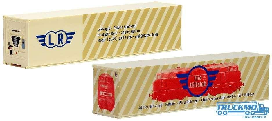 AWM LokRapid, 40ft. HighCube Kühlcontainer 491712