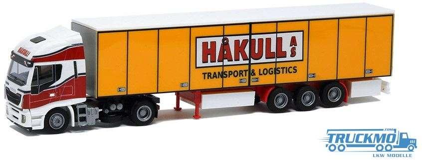 AWM Hakull Iveco Stralis HiWay Koffersattelzug 53627