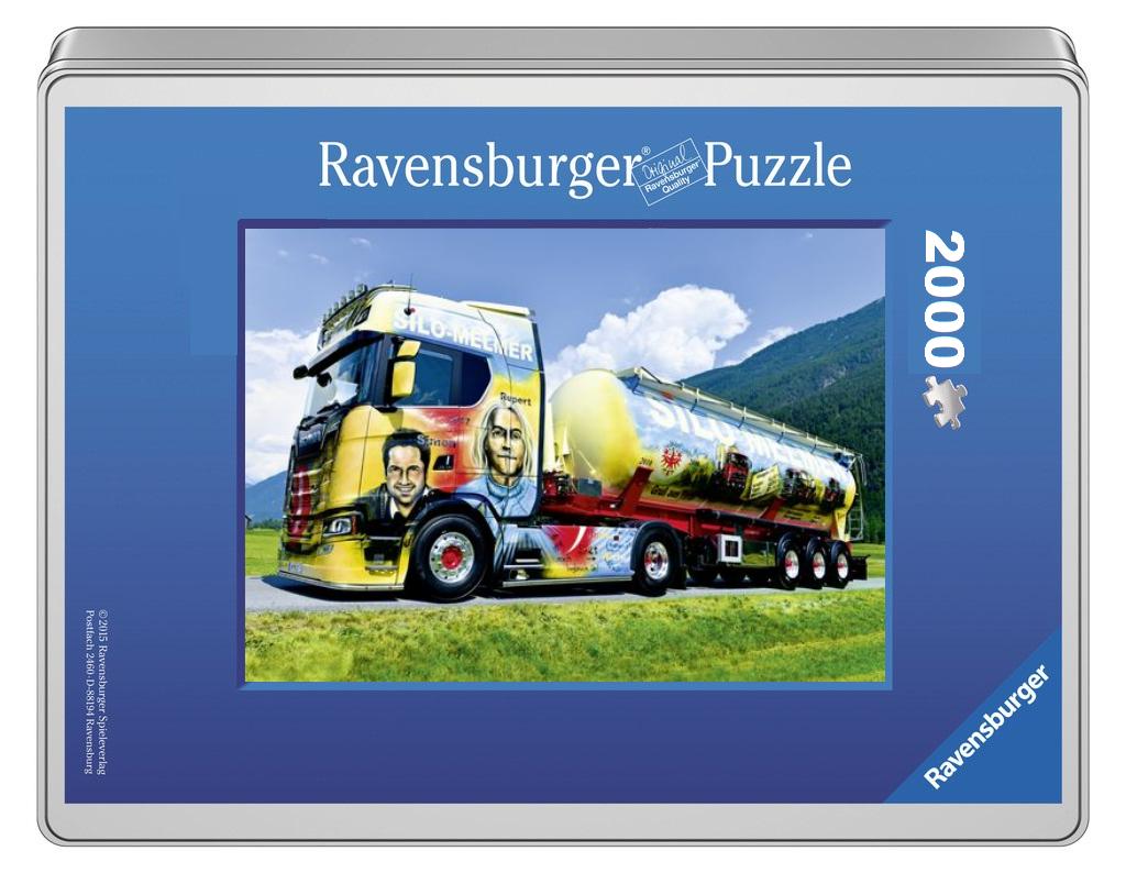 Silo-Melmer Ravensburger Foto-Puzzle 2000 Teile - Original Qualität