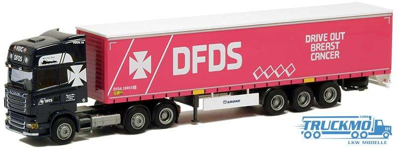 AWM D F D S Scania R09 Topline Planenauflieger 74928