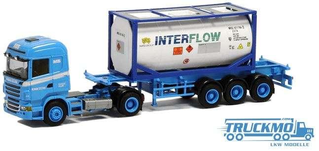 AWM Nijman / Interflow Scania 09 Highline 20 Tankcontainer-Sattelzug 74984