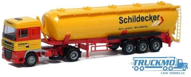 AWM Schildecker LKW Modell DAF XF SC Kippsilo Sattelzug 54412