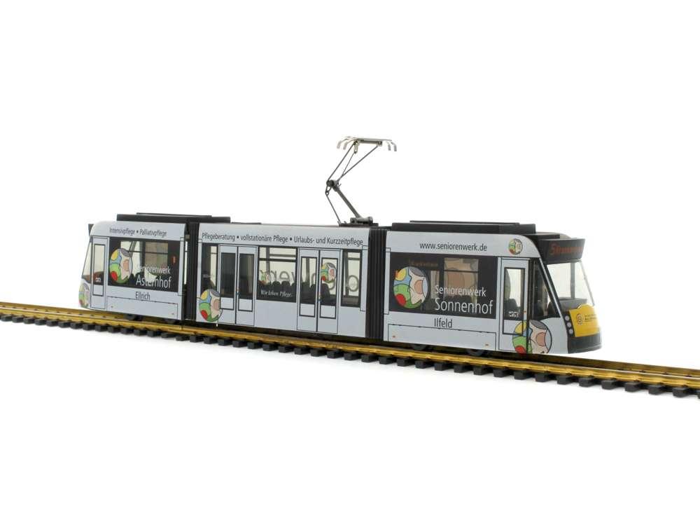 Rietze Verkehrsbetriebe Nordhausen - Seniorenwerk Siemens Combino STRA01019