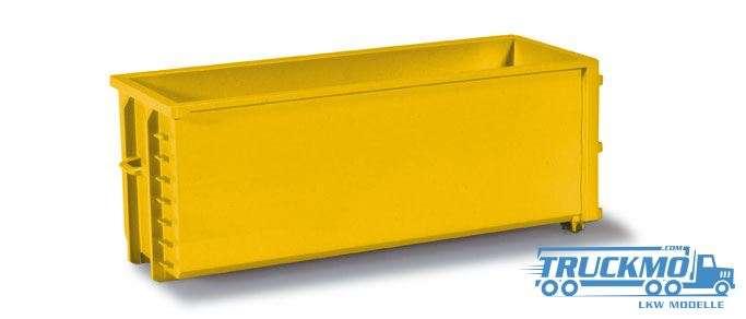 Herpa Abrollmulden gelb 2 Stück 053082-005