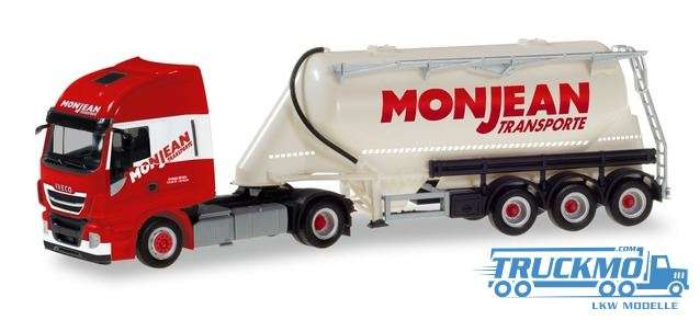 Herpa Monjean Iveco Stralis XP Eutersilo-Sattelzug 310451