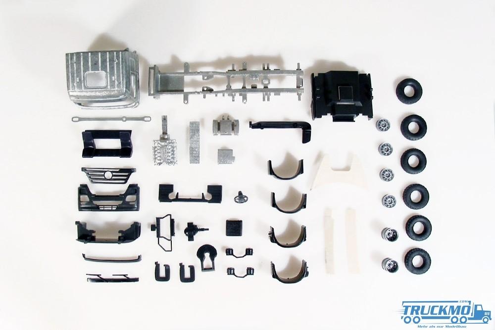 Tekno Bausatz Mercedes Benz Actors 6x2