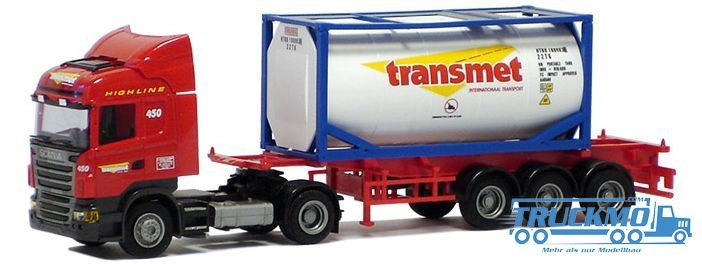 "AWM Transmet Scania ""09"" Highl./Aerop. - 20`Tank-Co.SZ"