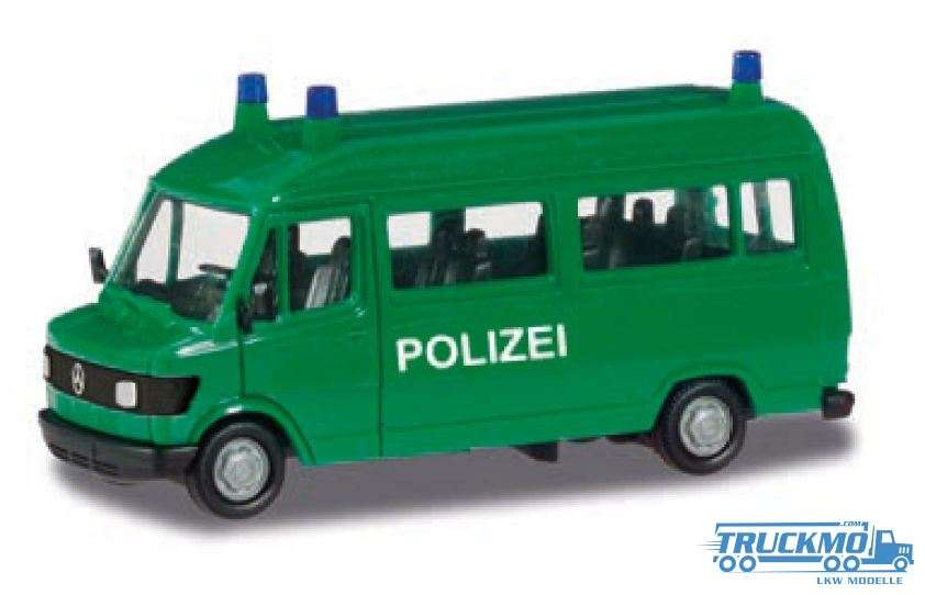 Herpa Basic police Mercedes-Benz T1 Bus 094139