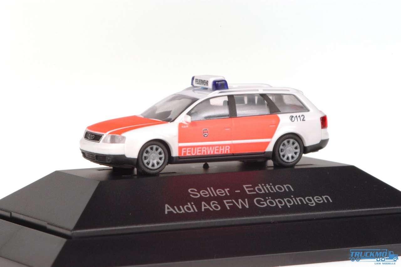 Rietze Feuerwehr Göppingen Audi A6 C5 Avant 50951