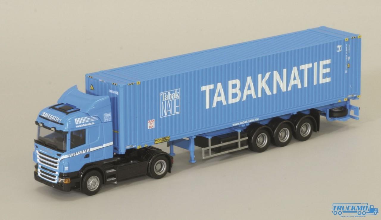 "AWM Tabaknatie Scania ""09"" Highl. / Aerop. - 45' Cont.-SZ"