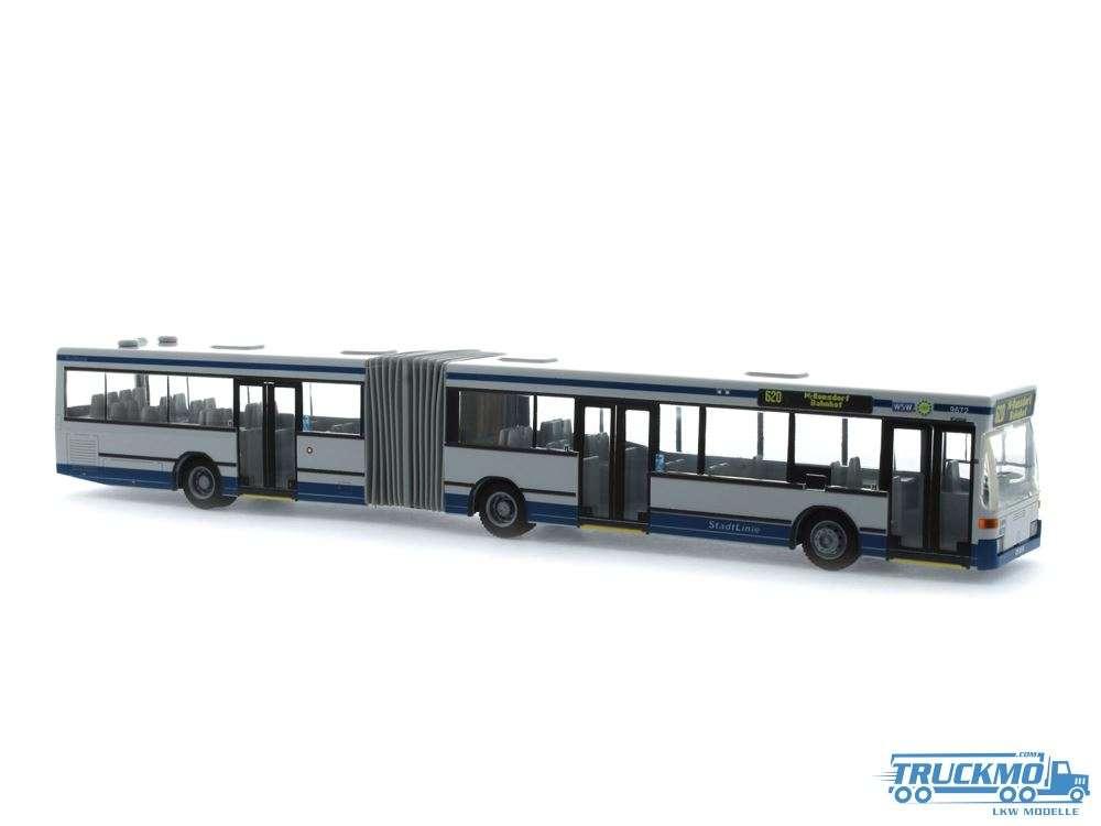 Rietze WSW Wuppertal Mercedes Benz O 405 GN2 76407