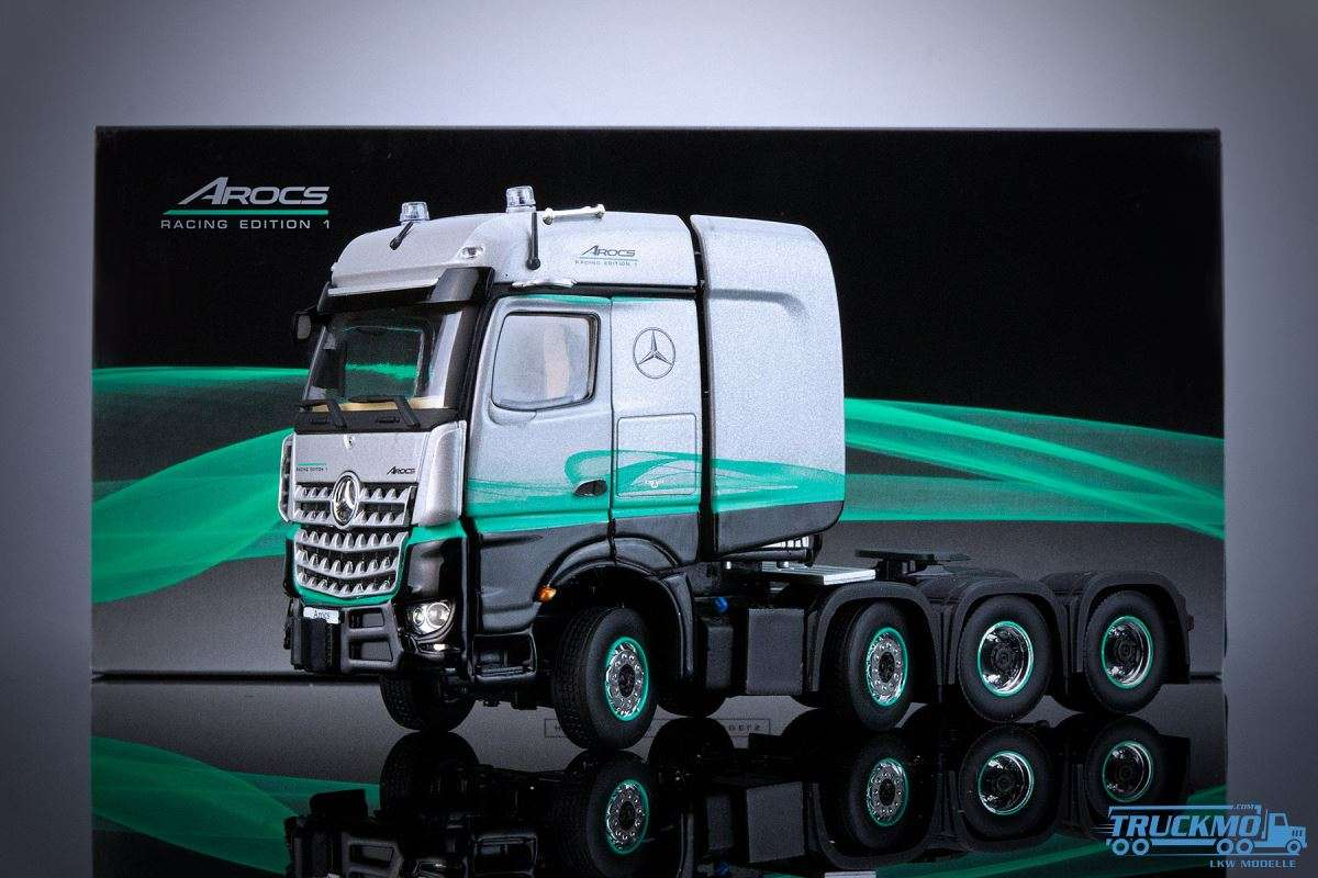 IMC Models Mercedes Benz Arocs STL 8x4 Racing Edition 1 33-0117